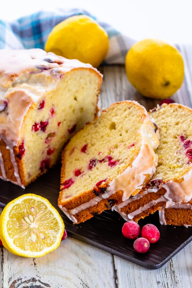 Lemon Cranberry Bread Picture