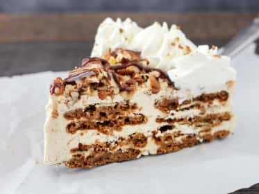 Gingersnap Turtle Icebox Cake