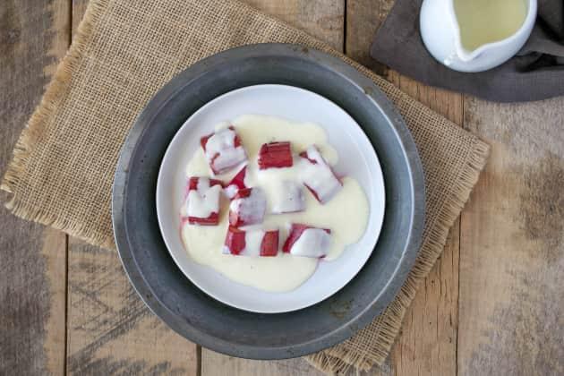 Rhubarb and Custard Photo
