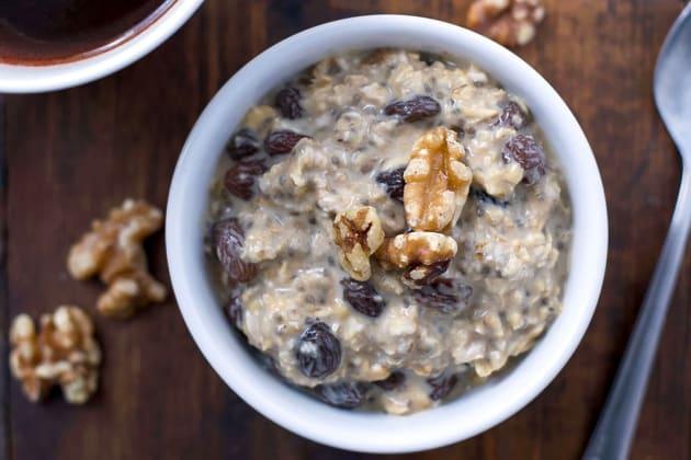 Gluten Free Oatmeal Raisin Overnight Oats Photo