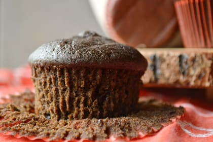 Double Chocolate Ginger Muffins