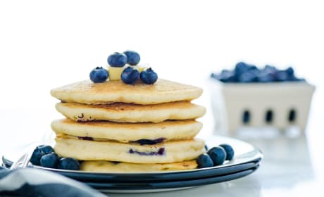Gluten Free Blueberry Pancakes Photo