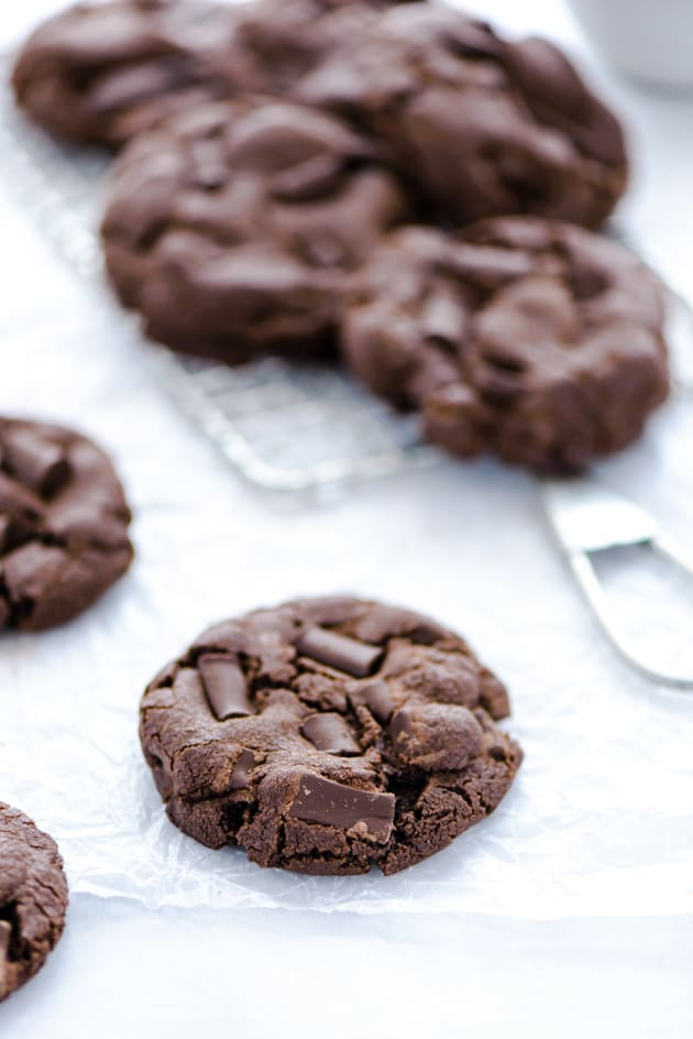 Gluten Free Double Chocolate Chunk Cookies Picture