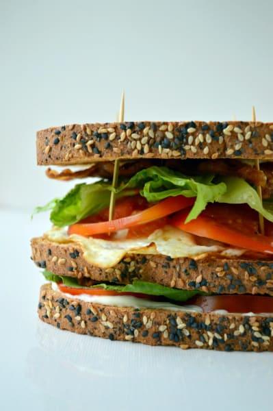 Breakfast BLT Sandwich Image