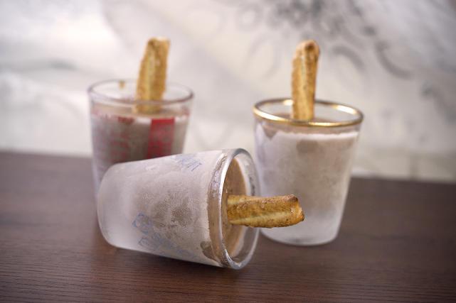 Pretzel Fudge Pops Recipe