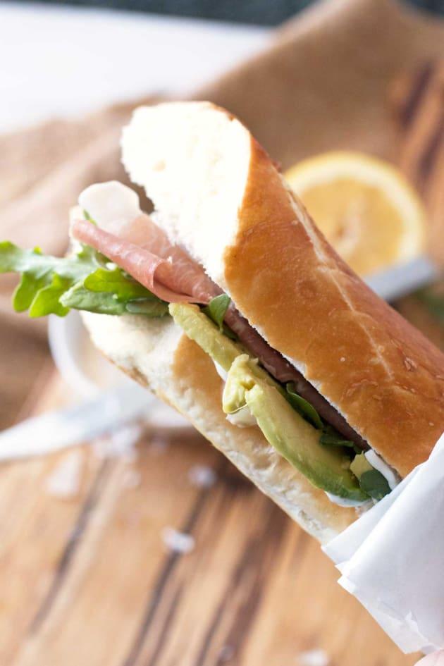 Rocket Sandwich Pic