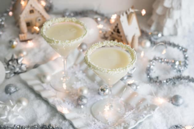 white christmas cocktail recipe food fanatic - White Christmas Martini