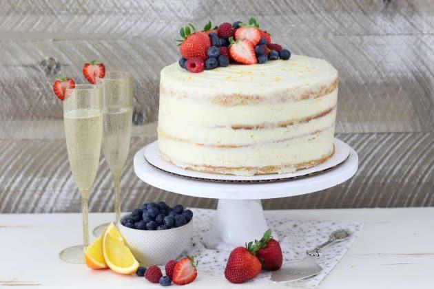 Mimosa Cake Photo