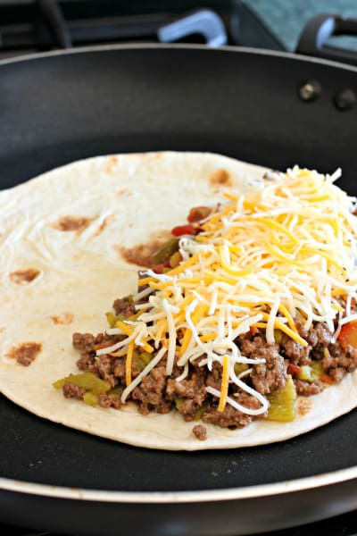 Pan Fried Beef Tacos Image