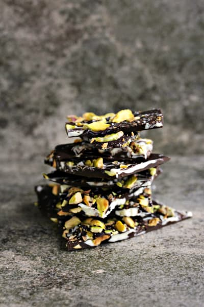 Marble Bark with Pistachios Image