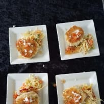 Dungeness Crab Cakes With Spicy Meyer Lemon Orange Marmalade