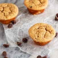 Peanut Butter Banana Blender Muffins Recipe