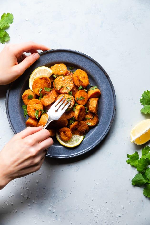 File 2 - Roasted Tahini Maple Sweet Potatoes