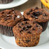Paleo Banana Chocolate Chip Muffins Recipe