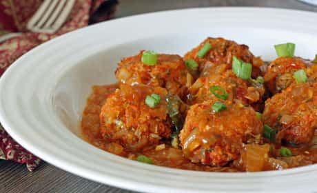 Baked Vegetable Manchurian Recipe