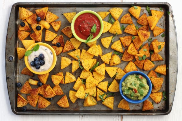 Crispy Polenta Dippers Photo