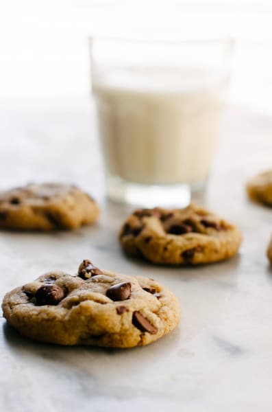 Small Batch Vegan Chocolate Chip Cookies Picture