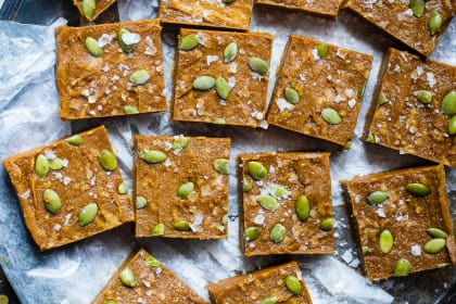 Paleo Pumpkin Freezer Fudge