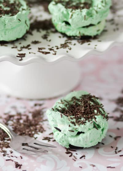 Mint Chocolate Ice Box Cupcakes Picture