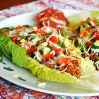 Taco Salad Boats Recipe