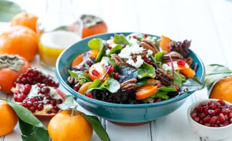 Winter Salad with Citrus Vinaigrette Recipe
