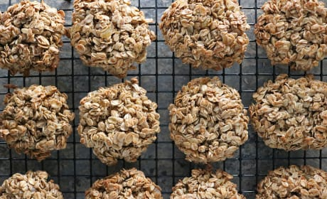 Ginger Granola Breakfast Cookies Recipe