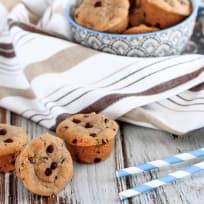 Mini Chocolate Chip Peanut Butter Cookie Cups Recipe