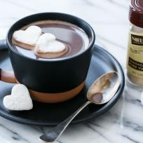 Salted Vanilla Hot Chocolate Recipe