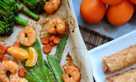 Sheet Pan Shrimp Stir-Fry Image