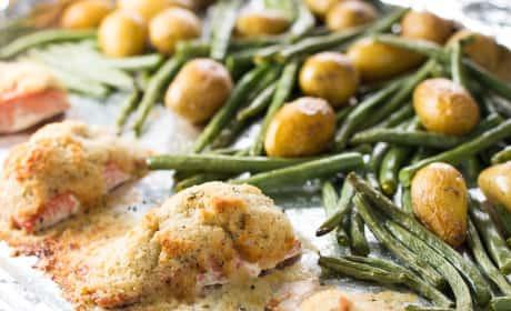 Salmon Sheet Pan Dinner Recipe