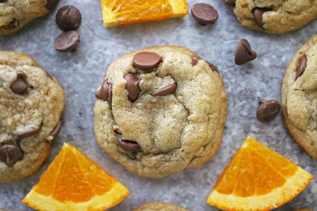 Gluten Free Chocolate Chip Cookies with Orange Photo
