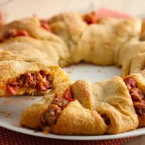 Air Fried Crescent Rolls With Pizza Stuffing