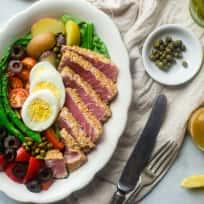 Asian Nicoise Salad Recipe