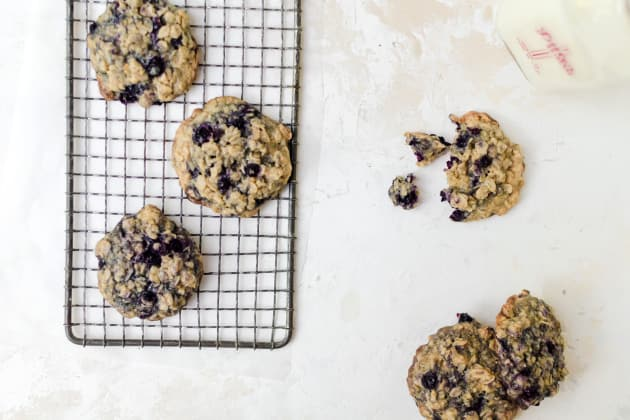 Blueberry Oatmeal Cookies Photo