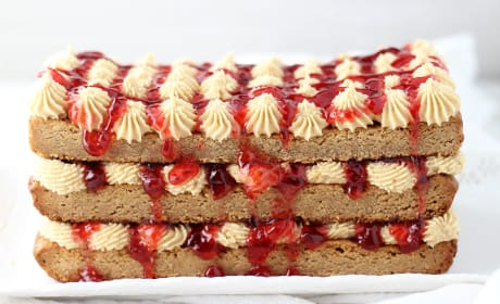 Peanut Butter & Jelly Torte Recipe