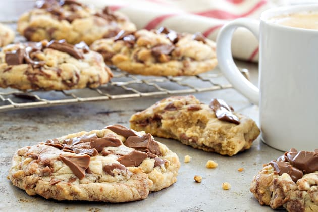 Marbled Chocolate Hazelnut Cookies Image
