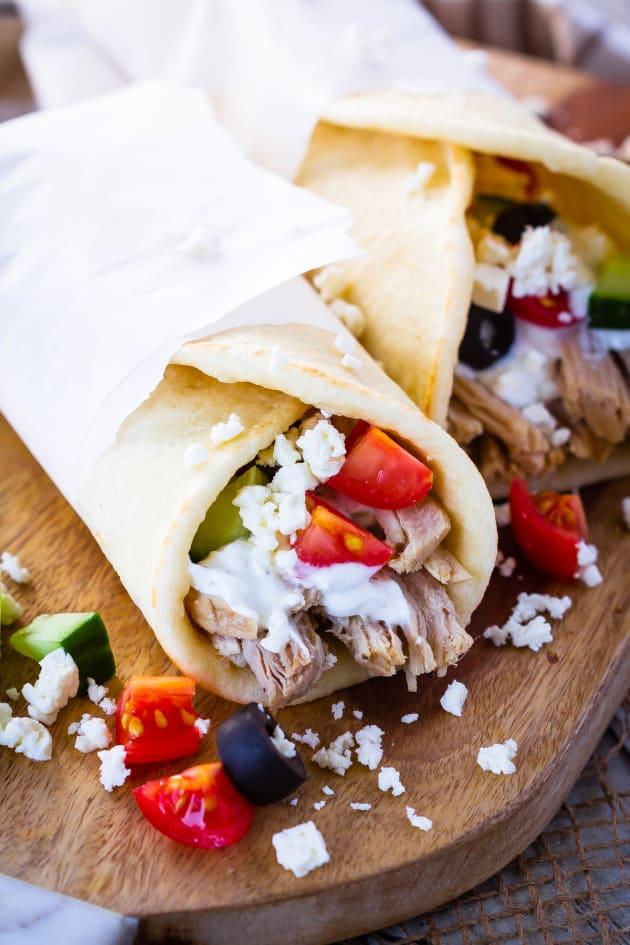 File 1 - Instant Pot Greek Pork Wraps
