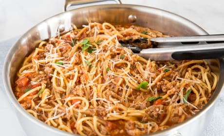 One Pot Spaghetti Photo