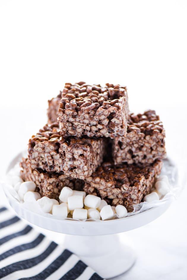 Gluten Free Chocolate Rice Krispie Treats Picture