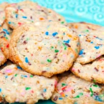 Frosted Flake Funfetti Cookies Recipe