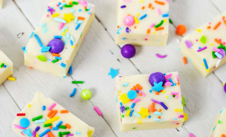 Gluten Free Cake Batter Fudge Recipe