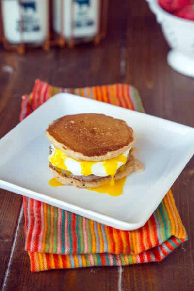 Pancake Breakfast Sandwiches Image