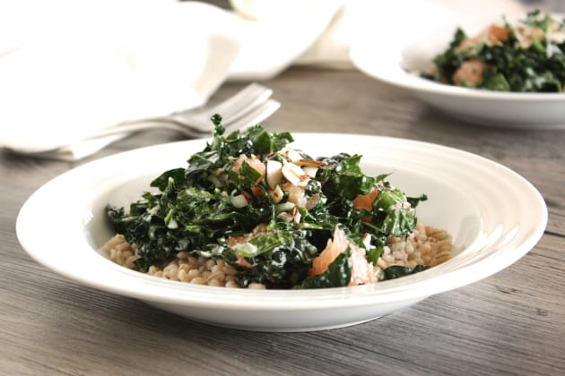 Kale Barley Salad Picture