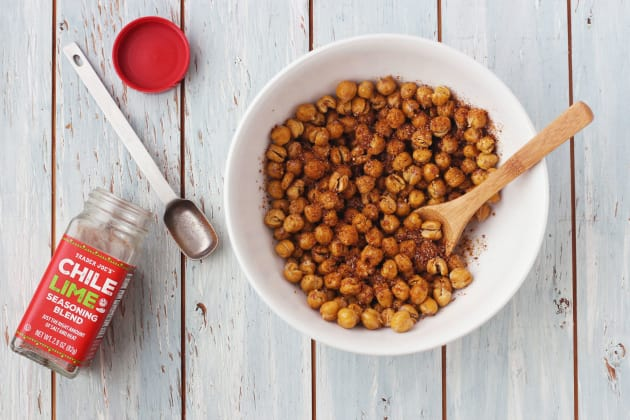 Toaster Oven Roasted Chickpeas Pic