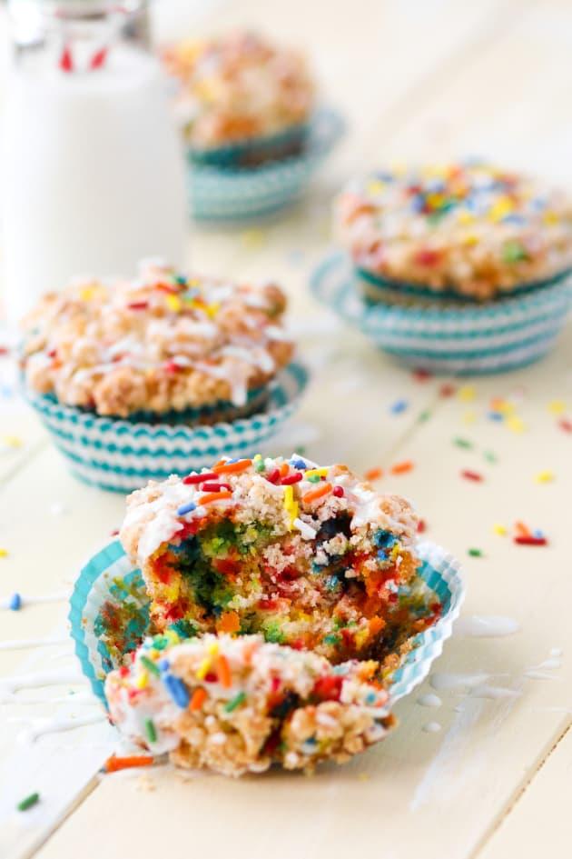 Birthday Cake Muffins Picture