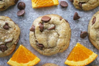 Gluten Free Chocolate Chip Cookies with Orange Recipe