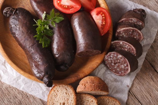 Blood Sausage Photo