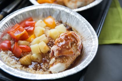 One Pot Pineapple Chicken