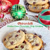 Ghirardelli Gluten Free Chocolate Chip Cookies