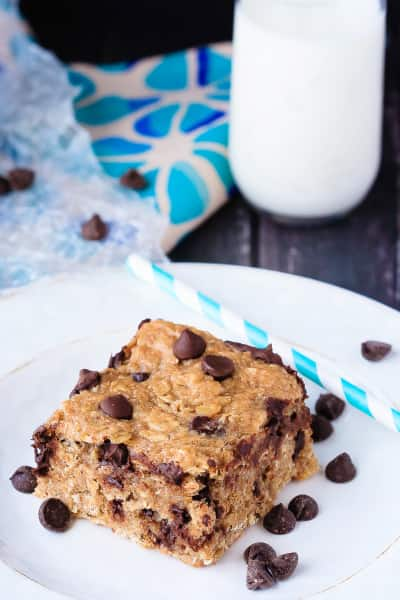 Peanut Butter Banana Oatmeal Bars Picture